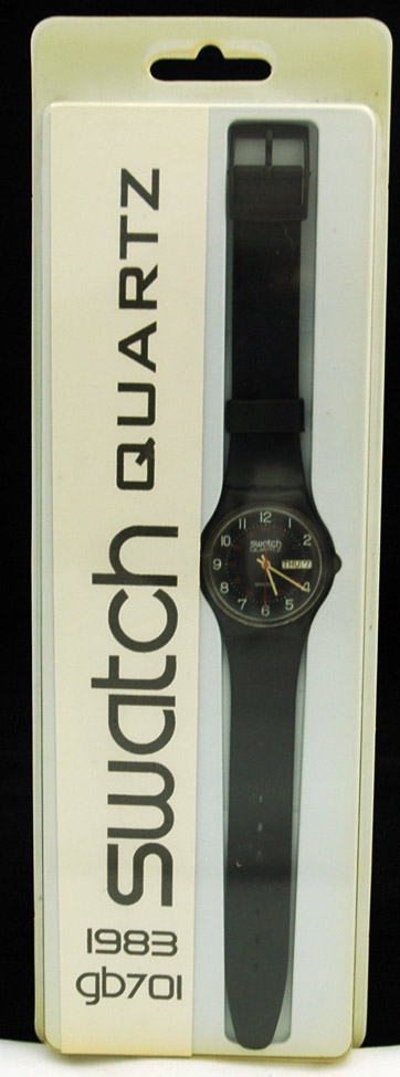 Swatch blister pack