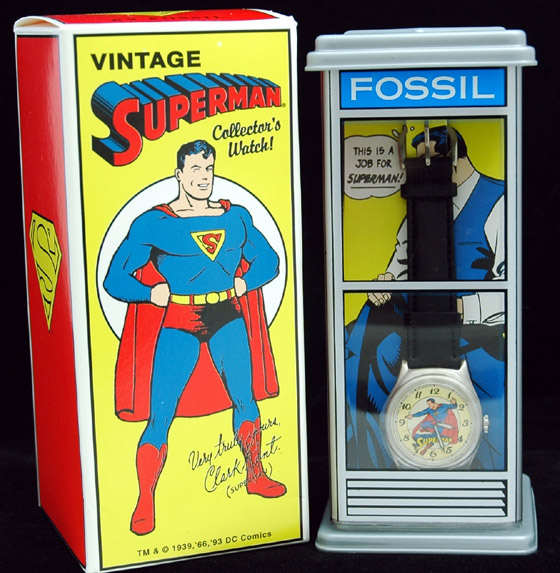 1993 superman phone booth fossil watch modern greed 1993 superman phone booth fossil watch freerunsca Choice Image