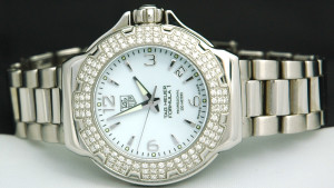 TAG HEUER FORMULA 1 Ladies DIAMOND WAC1215 SWISS
